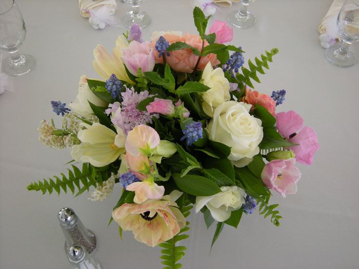 bridal shower flowers